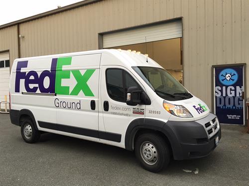 Fedex Van Wraps