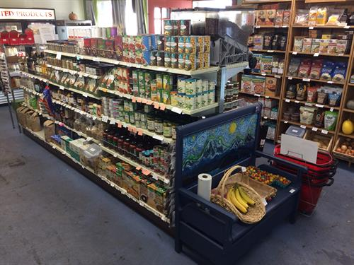 Inside the Anacortes Food Coop