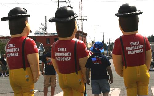 Shell Emergency Response Team Rocks!