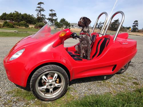 Everyone loves riding in a Scoot Coupe