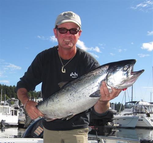 King Salmon, San Juan Islands