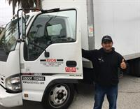 Good Gracious Events taking out a 20' Cube Truck from Avon - June 2017