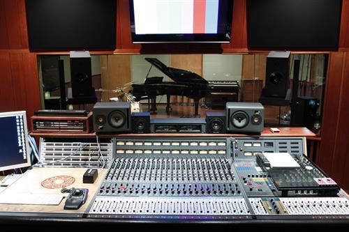 Studio A Control Room _ Console