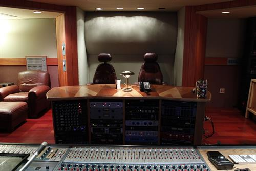 Studio A Control Room _ Desk