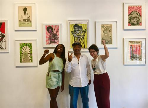 Emory Douglas: Bold Visual Language Exhibition