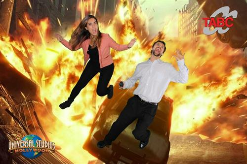 Blowin' up with green screen!