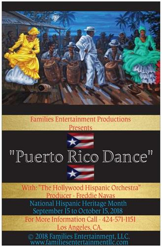 Families Entertainment Productions Presents Puerto Rico Dance Show Upcoming in 2018