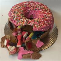 Donut SmashCake