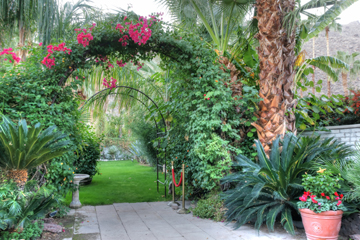 Beautiful gardens for special events