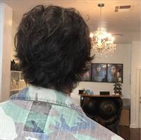 Mens hair cut by Christina Culinski