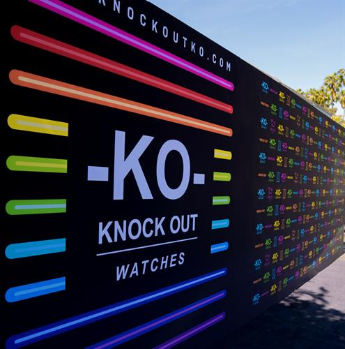 20' Media wall for KO Watches