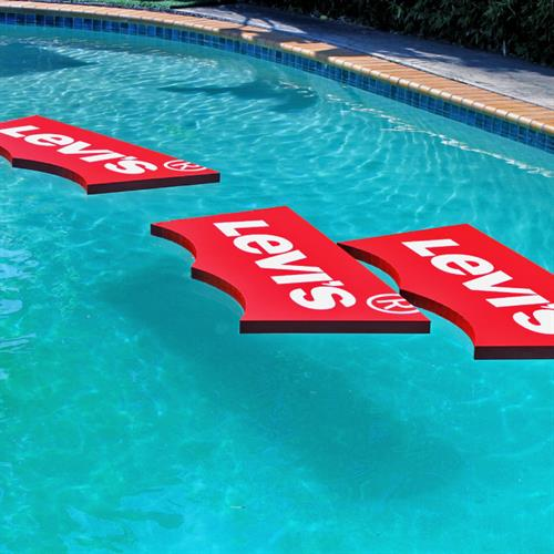 Custom Pool Float for Levis