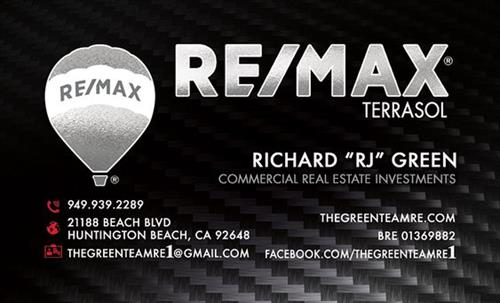 Remax Special Foil Business Card
