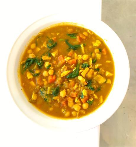 Vegan Moroccan Chickpea soup