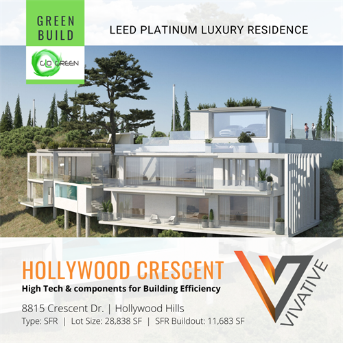 Hollywood Crescent luxury residential development project.