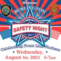 Community Safety Night at Wegmans