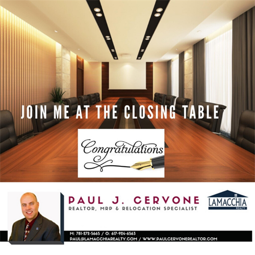Join Me At The Closing Table