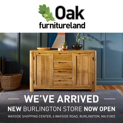 Oak Furnitureland Chooses Burlington For Its First Us Retail