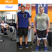 Our member, Chad's transformation with CFE!
