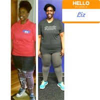 Our member, Liz's, transformation with CFE!