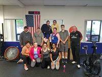Group shot after Murph Hero WOD on Memorial Day!