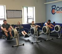 CFE teens rowing