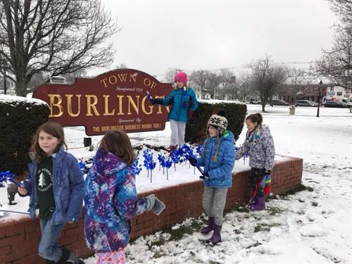 In 2018 we kicked off Child Abuse Prevention Month during an April snowstorm