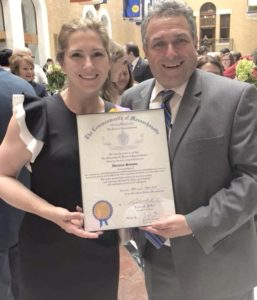 in 2018 Adrianne was recognized as an Unsung Heroine at the Massachusetts State House per the nomination of State Representative Gordon