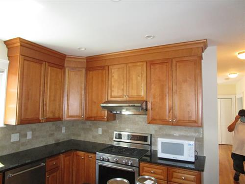 Kitchen Cabinets (Before)