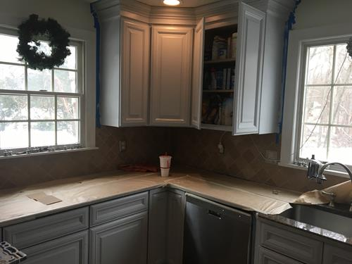 Woburn Kitchen Cabinets (After)