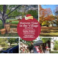 Harvest Time in the Village