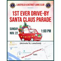 Drive-By Santa Claus Parade