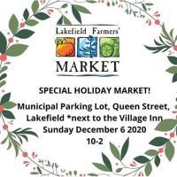 Special Holiday Market - Lakefield Farmers' Market