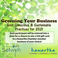 Greening Your Business: Cost Conscious & Sustainable Practices for 2021- Session 1