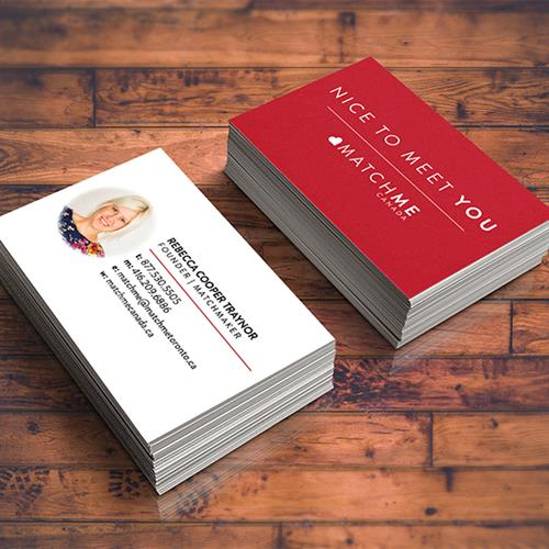 Match Me Canada Business Cards & Branding
