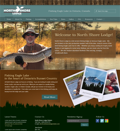 Northshore Lodge Branding & Website