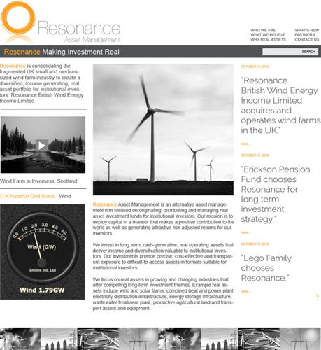 Resonance Webside Development