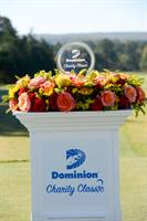 Dominion Charity Classic tournament trophy