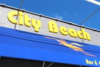 Dimensional lettering & awnings