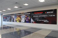 Fabric display banner-Richmond International Airport