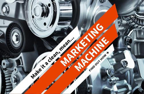 Make it a clean, mean, marketing machine