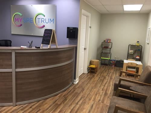 MySpectrum Waiting Area & Check-In