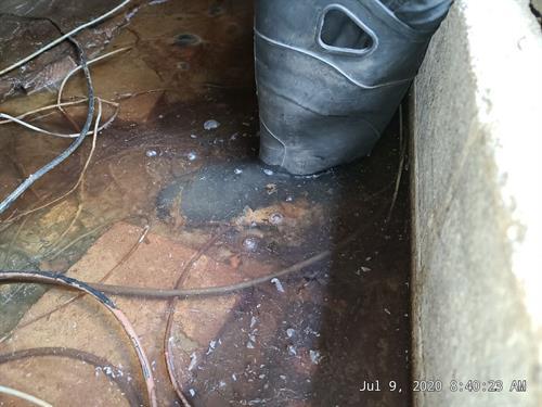Flooded Basement in Hopewell VA
