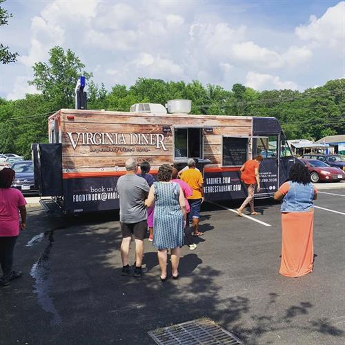 Check out our brand new food truck!