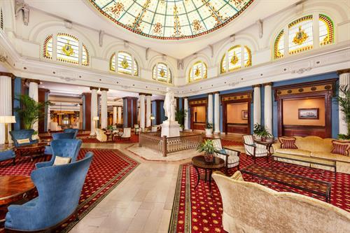 Palm Court Lobby