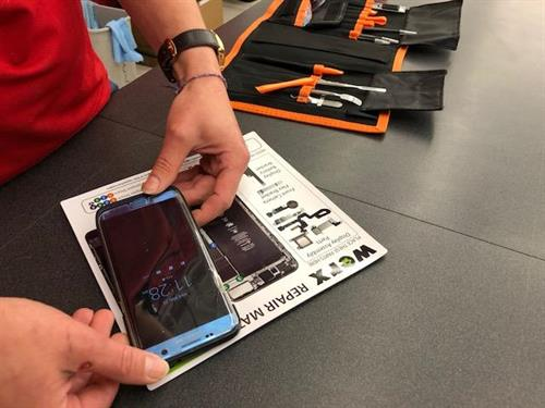 Cell phone repair available