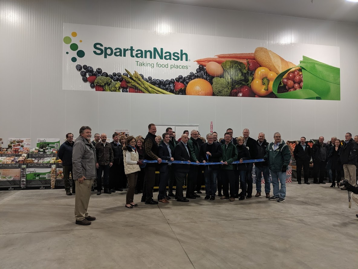 SpartanNash opens Produce and Floral Distribution Center in Fargo