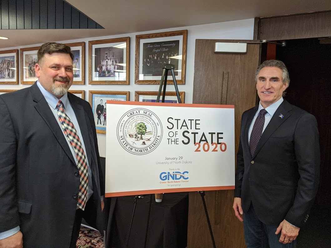 State of the State Address Q&A with Governor Burgum