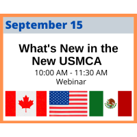 What's New in the New USMCA