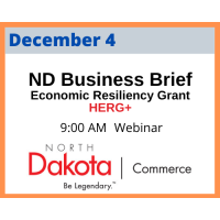 Business Briefing- Hospitality Economic Resiliency Grant Plus